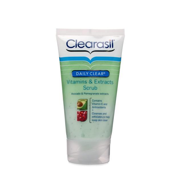 Clearasil-Vitamins-minerals-Scrub-review
